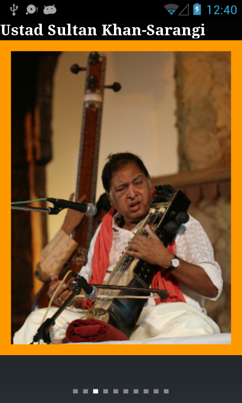 Ustad Sultan Khan - Sarangi- screenshot