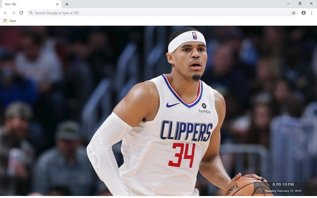 Tobias Harris New Tab & Wallpapers Collection
