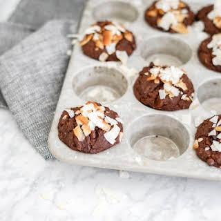 Double Chocolate Coconut Muffins | Gluten-Free, Vegan.