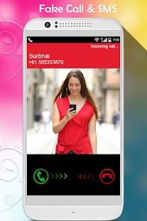 Fake Call and SMS : Fake Caller SMS - náhled