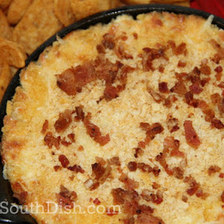 Cheesy Warm Vidalia Onion Dip.