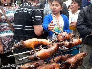 Photo: (Enlaces relacionados) CARRERA DE CUYES, EL 7 ENE 2013. EN EL MARCO DEL 9o. CARNAVAL DEL CUY. Entrar > http://www.youtube.com/watch?v=JCMo_I3jxsg