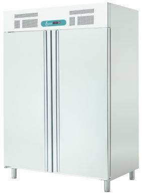 Bewaarkasten ECP 1402 BT PAT GN 2/1 VRIESKAST PAT- RVS - 18/-22°C -1320X845X2050mm
