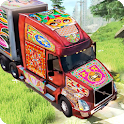 PK Cargo Truck Transport Game 2018 icon