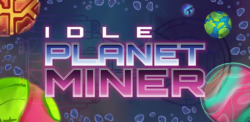 Idle Planet Miner - APK MOD RACK - Dinheiro Infinito