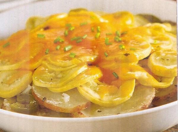 Garden Potato Casserole Recipe