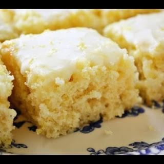 Easiest Lemon Brownies