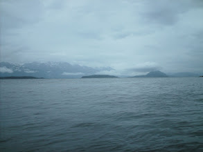 Photo: Looking across Lynn Canal toward Sullivan, Kataguni, Shikosi, and Anyaka Islands.