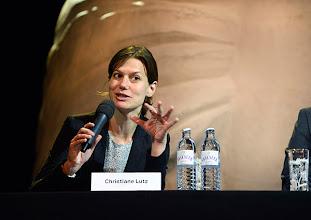 Photo: Pressekonferenz der Wiener Kammeroper am 29.4.2014. Regisseurin Christiane Lutz. Foto: Barbara Zeininger