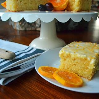 Orange Roll Breakfast Cake