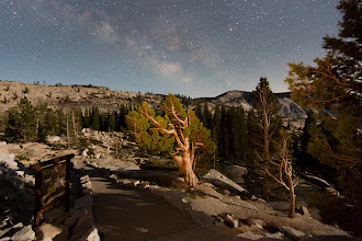 Photo: Milky Way over Olmstead Point.  Taken during one of my photography workshops in Yosemite in 2013