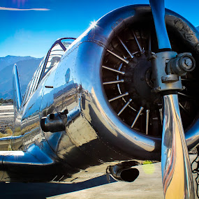 Old School by Jay Woolwine Photography - Products & Objects Technology Objects ( plane, airplane, fighter )