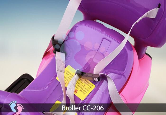 Xe chòi chân trẻ em Broller CC 206 8