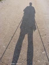 Photo: Plein ouest...le camino