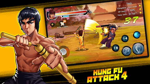 Kung Fu Attack 4 - Shadow Legends Fight 1.2.1.108 screenshots 1