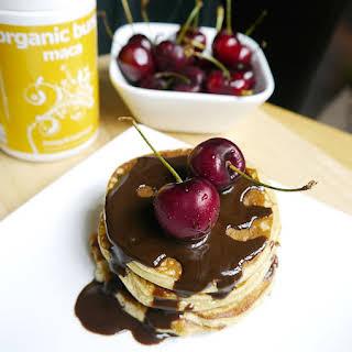 4 Ingredient Protein Pancakes.