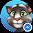Talking Tom for Messenger logo