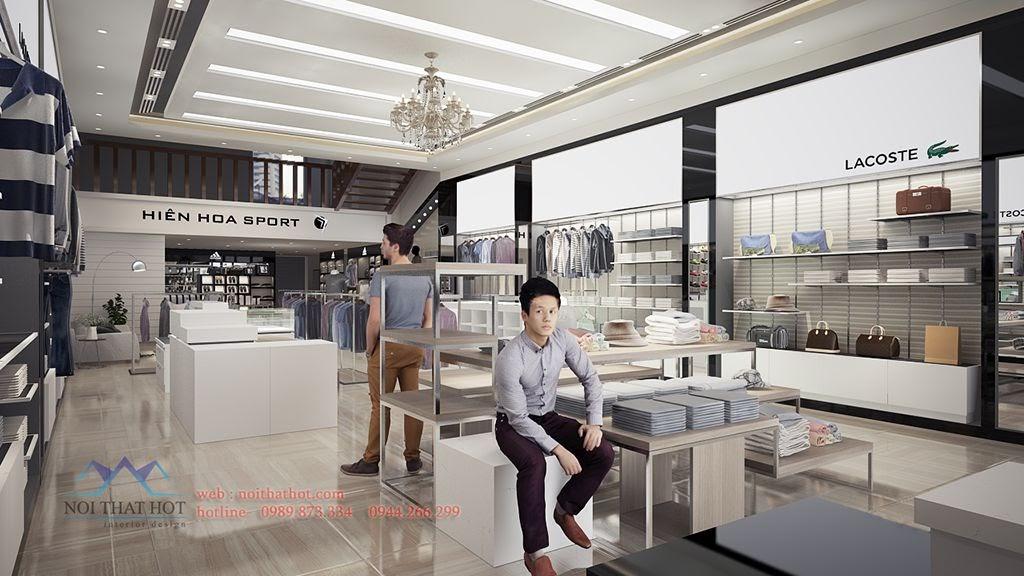 thiết kế shop thời trang cao cấp uy tin chất lượng cao