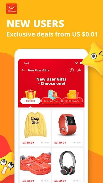 AliExpress - Smarter Shopping, Better Living Android App Screenshot