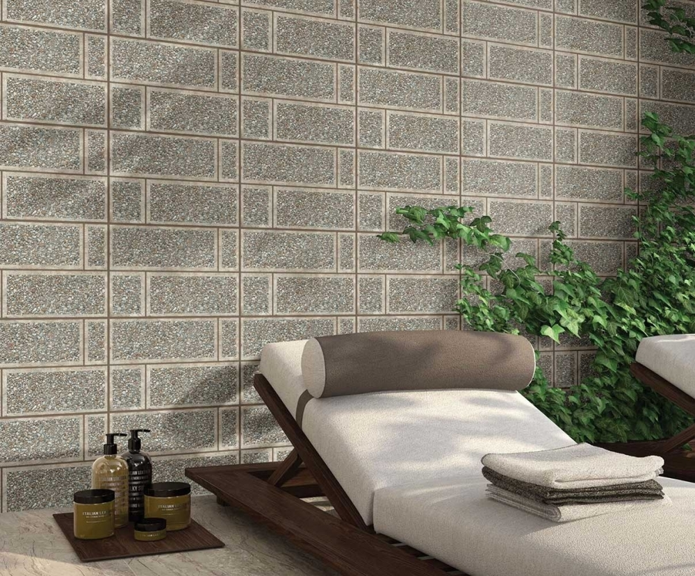 Gạch ốp tường làm nổi bật không gian