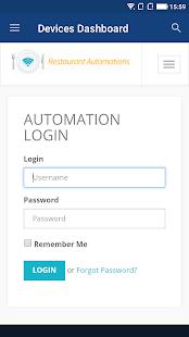 Restaurant Automations screenshot