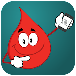 Fingerprint Blood Sugar Test Checker Prank Icon