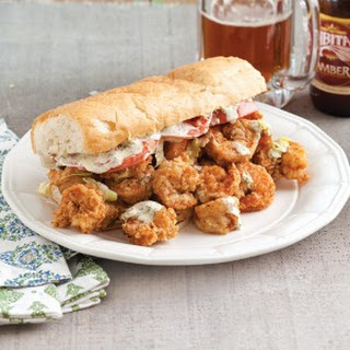 Fried Shrimp Po' boys.