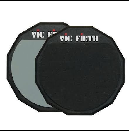 """12"""" Vic Firth Dubbelsidig övningsplatta - PAD12D"""