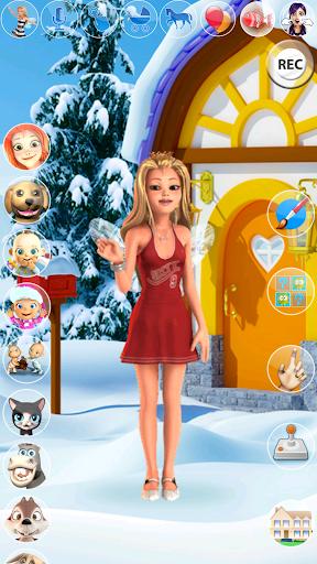 My Little Talking Ice Princess 1.3.0 screenshots 1
