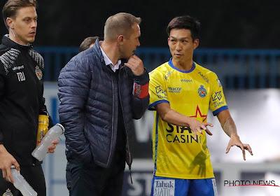 Yuki Kobayashi scoorde tijdens zijn eerste basisplaats voor Waasland-Beveren