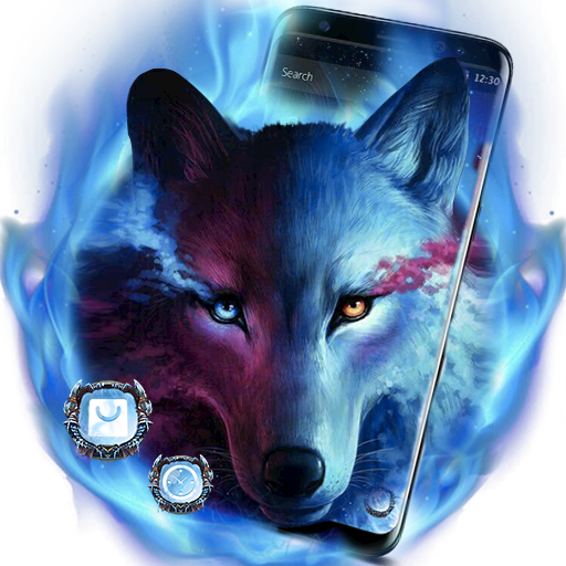 Magic Wolf Blue Night Theme Android APK Download Free By Fantastic Design