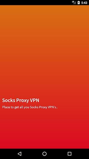 Socks Proxy VPN 5.0 screenshots 1