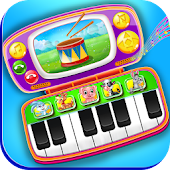 Baby Phone Piano & Drums - Music Instruments