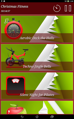 android Christmas Fitness Holidays Screenshot 7