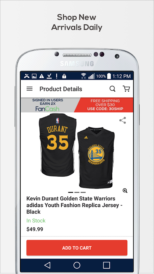 Fanatics: Team Gear, Fan Merch & Sports Jerseys- screenshot