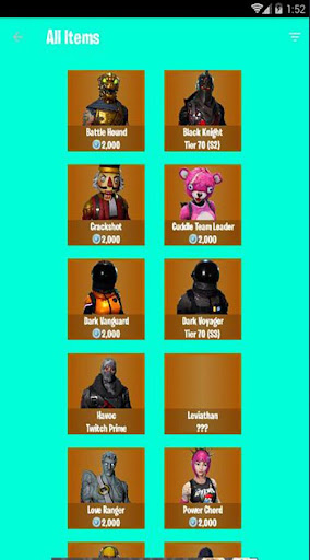 Fortnite Shop New for PC