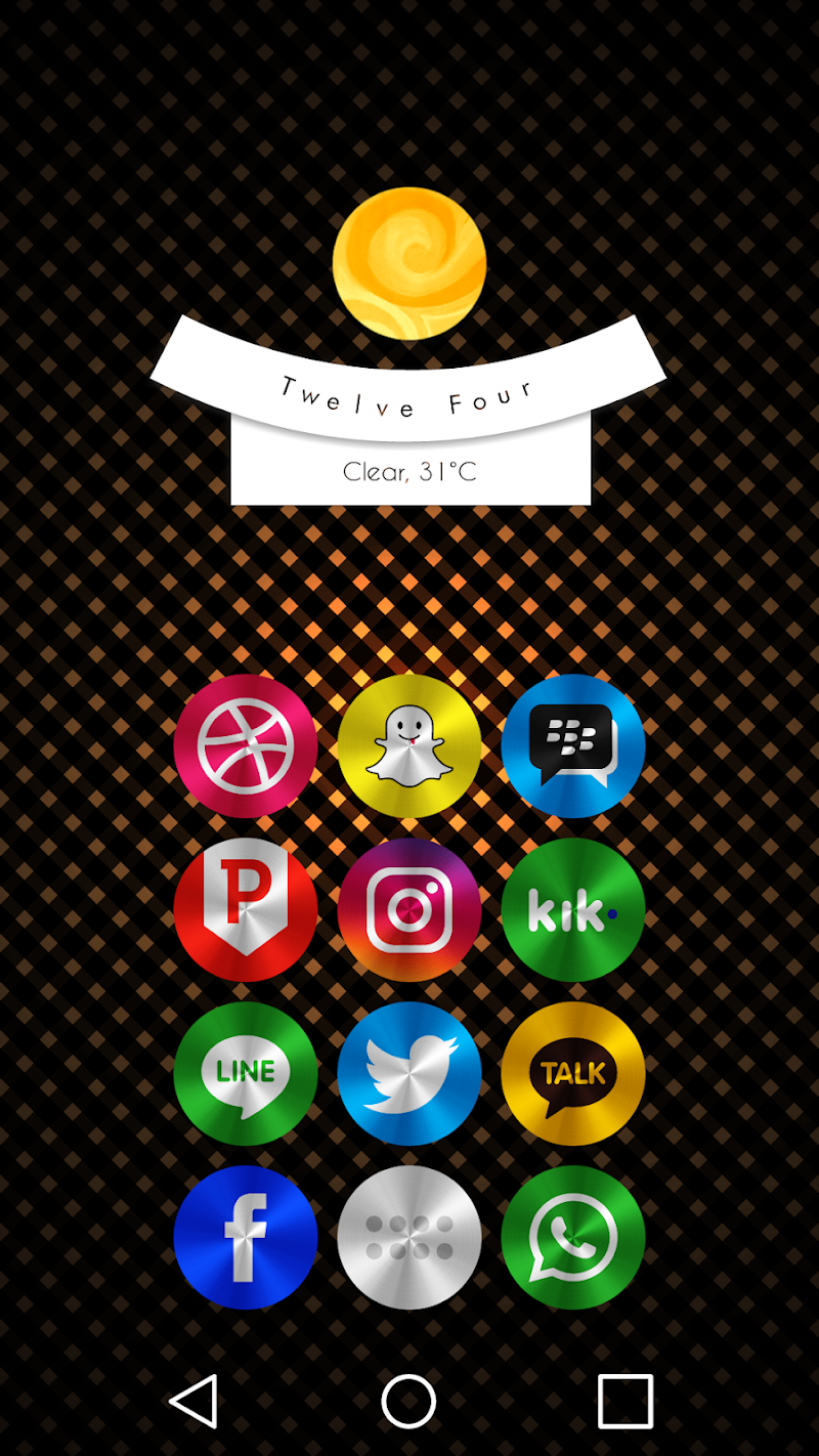 Steelicons - Icon Pack Screenshot 0