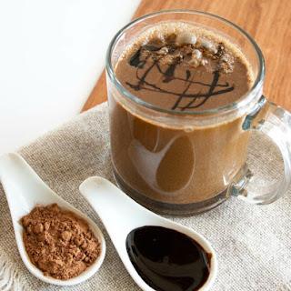Vegan Molasses Hot Cocoa.