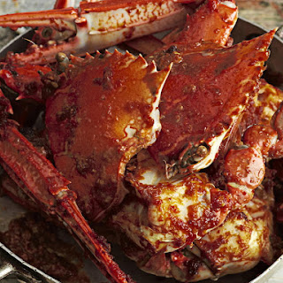 Crab with Spicy Tomato Sauce.