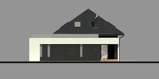 New House 9 - Elewacja prawa