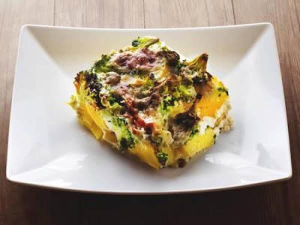 Broccoli Cheese & Potato Casserole