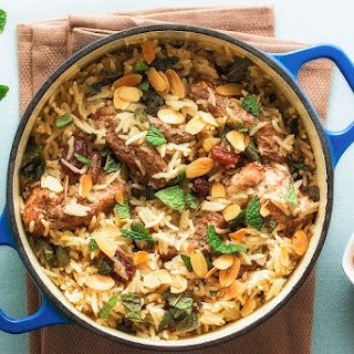 Aromatic One-pot Chicken And Rice
