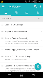 AC Forums App for Android™- screenshot thumbnail