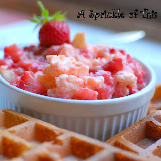 Whipped Strawberry Butter