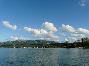 Photo: Blick auf die Nordspitze von Korfu