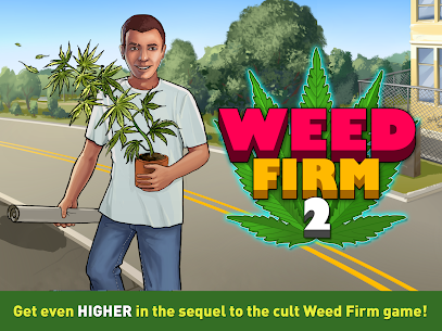 Weed Firm 2 MOD: Back to College (Unlimited Money) 2