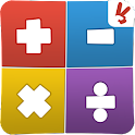Educational game for kids math icon