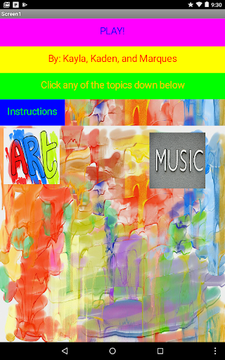 Art/Music 1.0 screenshots 1