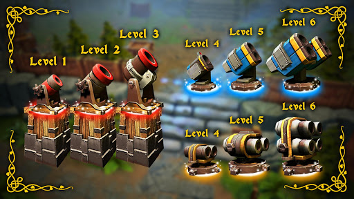 Code Triche Fantasy Realm TD: Tower Defense Game apk mod screenshots 5