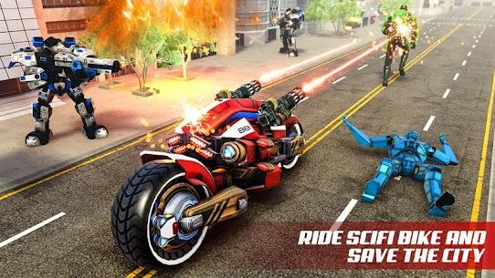 Flying Tiger Robot Bike – Ultimate Robot 1